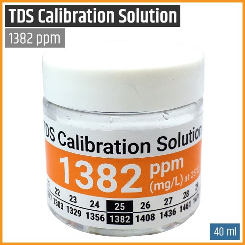 Foto Produk TDS Calibration Solution - Cairan Larutan Kalibrasi TDS Meter 1382 PPM dari MW Hydro Tangerang