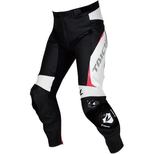 Foto Produk RS Taichi RSY828 GMX Arrow Leather Pants - Black White - 52 dari RS Taichi Official Store