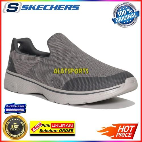 Foto Produk Sepatu Sneaker Pria Skechers Go Walk 4 Viability 54690-CHAR ORIGINAL - 43.5 dari alatsports
