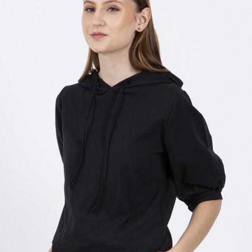 Foto Produk Colorbox Hoodie Sweatshirt Black I-STKKEY220B011 - Hitam, S dari Colorbox Indonesia