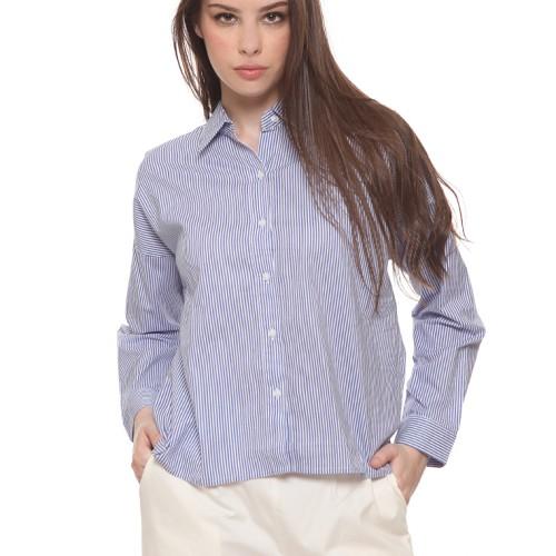 Foto Produk Colorbox Blouse Shirt Blue I-BLWFJN219L016 - Biru, S dari Colorbox Indonesia