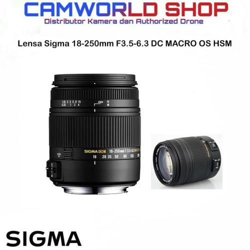 Foto Produk Lensa Sigma 18-250mm F3.5-6.3 DC MACRO OS HSM For Canon & Nikon dari Camworld Shop