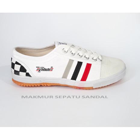 Foto Produk Sepatu Capung - Kodachi 8111 Monaco Checker Heels dari Makmur Sepatu Sandal