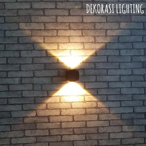 Jual H230 2l Lampu Dinding Taman Led 2x2w Waterproof Outdoor Wall Lamp Jakarta Pusat Dekorasi Lighting Tokopedia
