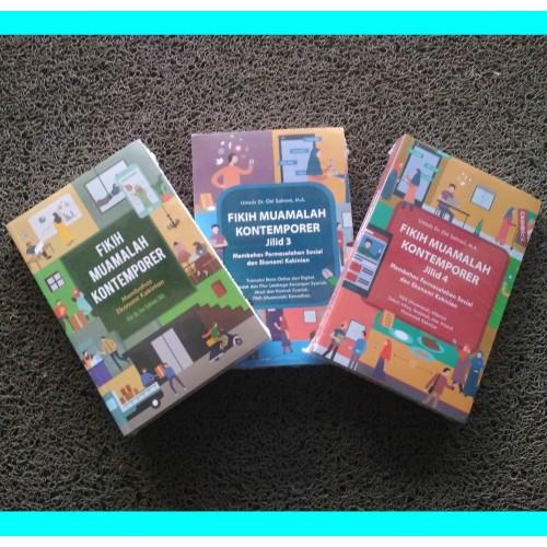 Foto Produk Paket Buku Fikih Muamalah Kontemporer Dr. Oni Sahroni Isi 3 Buku dari CendoleBook