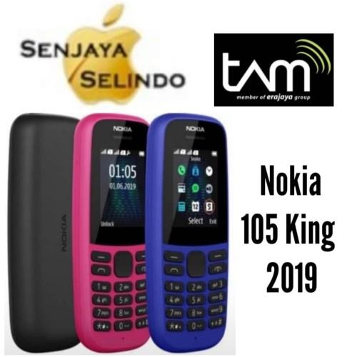 Foto Produk Nokia 105 King (2019) Garansi Resmi TAM - Hitam dari Senjaya Selindo