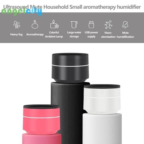 Foto Produk Diffuser Portable Aroma dengan Ultrasonik + Dapat Dicas untuk Rumah dari OlliviaShop
