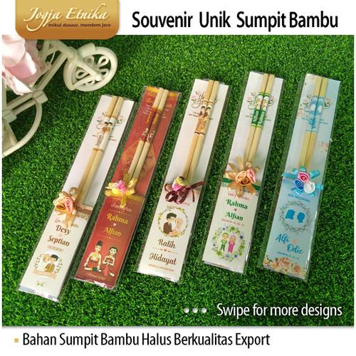 Foto Produk Souvenir Sumpit Bambu / Souvenir Unik dari Jogja Etnika
