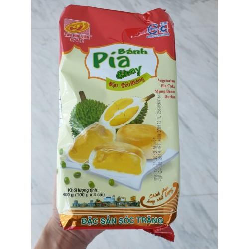 Foto Produk Pia Durian Vietnam Ban Pia Chay 100% Original Dijamin Enak dari pelibur