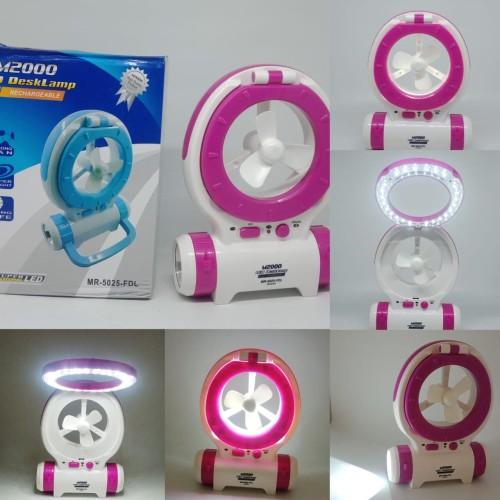 Foto Produk Lampu Darurat / Emergency Lamp 3 In 1 Dengan Kipas Angin - M2000 dari BRAYAN MAJU ONLINE