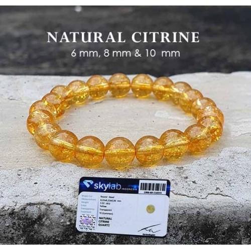 Foto Produk Gelang Meditate Wealthy Citrine Stone (BP02) dari ViriyaShop