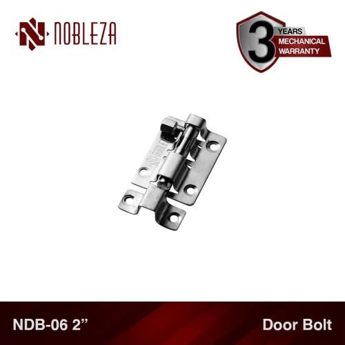 "Foto Produk NOBLEZA NDB-06 2"" Inch Door Bolt Grendel Slot Selot Jendela Pintu dari Nobleza Hardware"