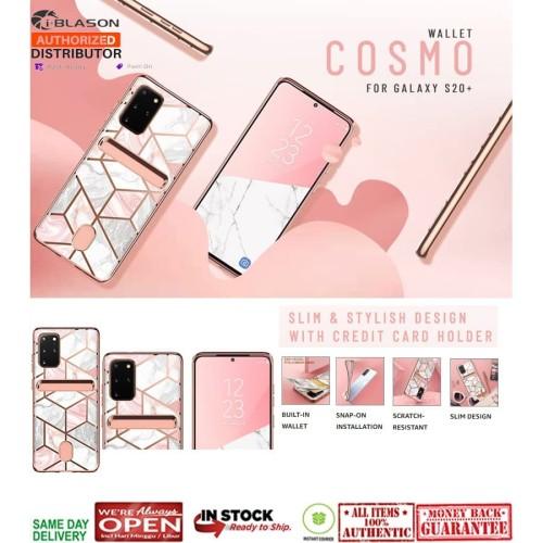 Foto Produk Samsung Galaxy S20 Plus Case I-BLASON COSMO WALLET Marble dari Spigen Indonesia
