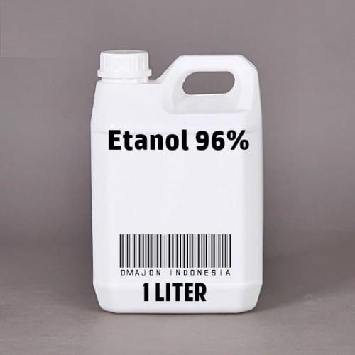 Foto Produk Etanol Murni 96% Antiseptik Disinfektan 1 Liter dari Omajon Indonesia