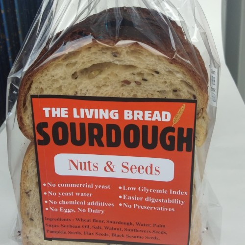 Foto Produk Sourdough bread with nuts n seeds dari Chats tarts and pies