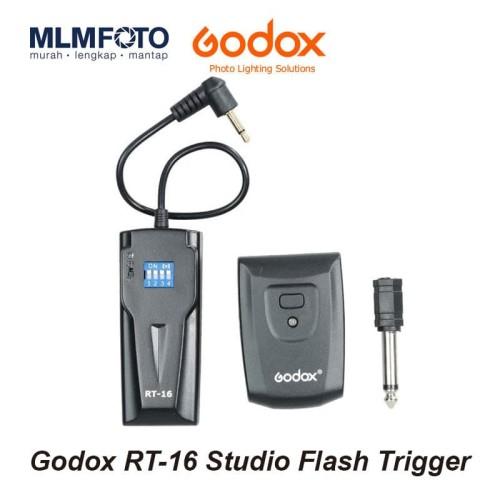 Foto Produk Godox RT16 Studio Flash Trigger Set RT-16 dari MLMFOTO