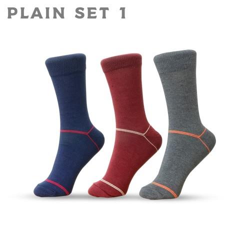 Foto Produk Plain Set 1 - Kaos Kaki AGF dari A Good Foot
