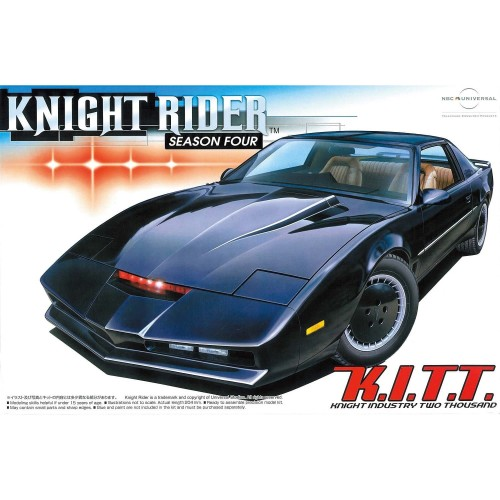 Foto Produk Aoshima 1/24 Knight Rider Season 4 KITT dari BakuToys Collection