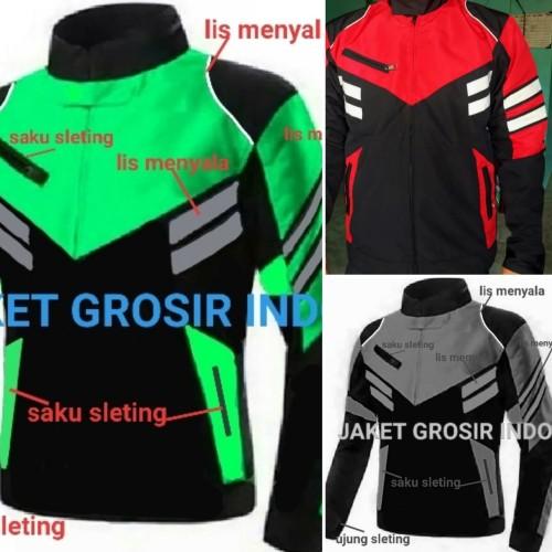 Foto Produk jaket turing merah polos - Merah, M dari jaketgrosirindo