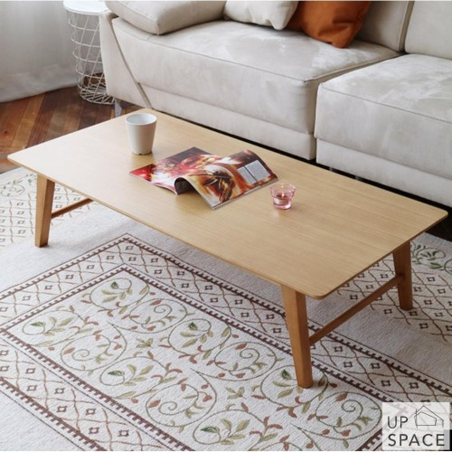 Foto Produk Rolf Table 800 / Meja Lipat / Meja Kayu / Meja Kerja / Meja Lesehan - Light Brown dari Up Space