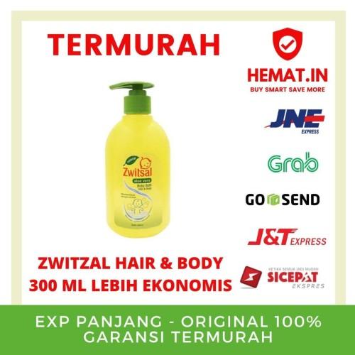 Foto Produk Zwitsal Baby Hair&Body 300 ml Pump dari Hemat Indonesia