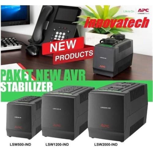 Foto Produk APC LSW2000-IND LSW2000IND LSW2000 Stabiliser Stabilizer Stavolt AVR dari Innovatech Official