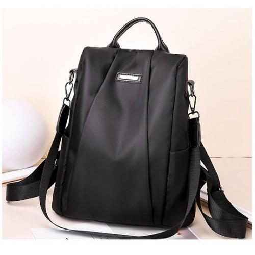 Foto Produk READY STOK B8816-black Tas Ransel Wanita Cantik Kekinian Import dari AlMirah Olshop