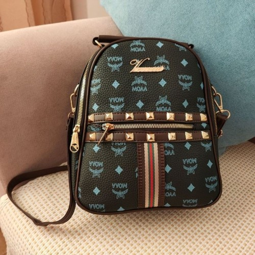 Foto Produk READY STOK JT02348-black Tas Ransel Wanita Fashion Import Terbaru dari AlMirah Olshop