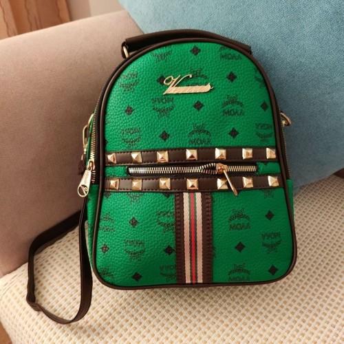 Foto Produk READY STOK JT02348-green Tas Ransel Wanita Fashion Import Terbaru dari AlMirah Olshop