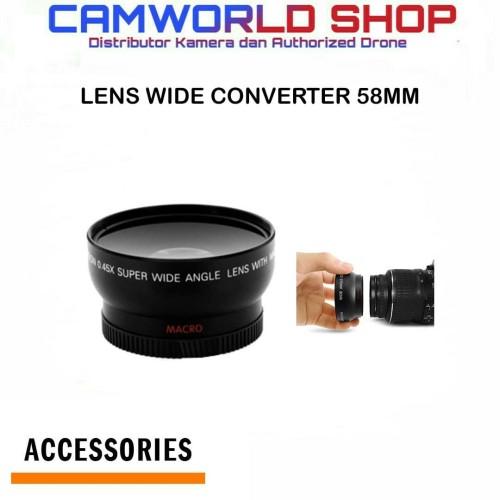 Foto Produk LENS CONVERTER OPTIC PRO WIDE CONVERTER 58MM dari Camworld Shop