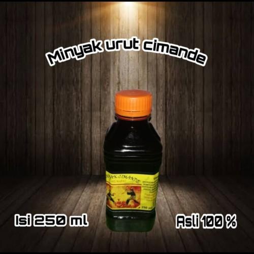 Foto Produk Minyak cimande Asli isi 250 ml dari Aneka produk dan aksesor