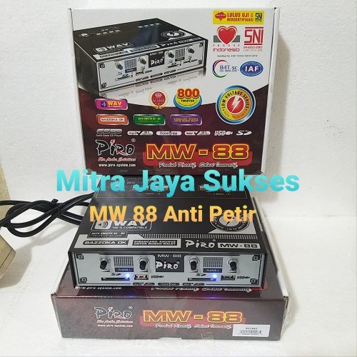 Foto Produk Ampli Walet Piro MW 88 2 input, 4 chanel output dari Mitra Jaya Sukses