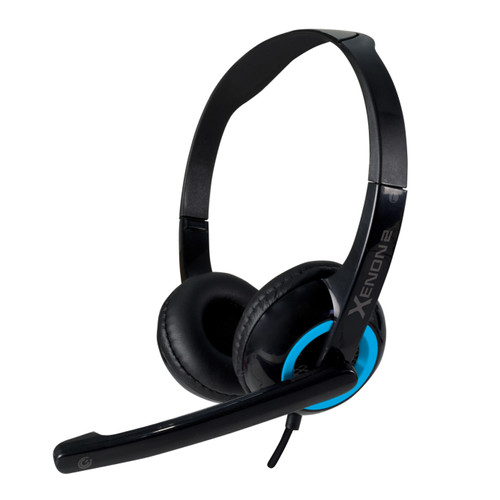 Foto Produk Headset Headphone Gaming Sonicgear Xenon 2 with mic - Turquila dari Sonicgear Official Store