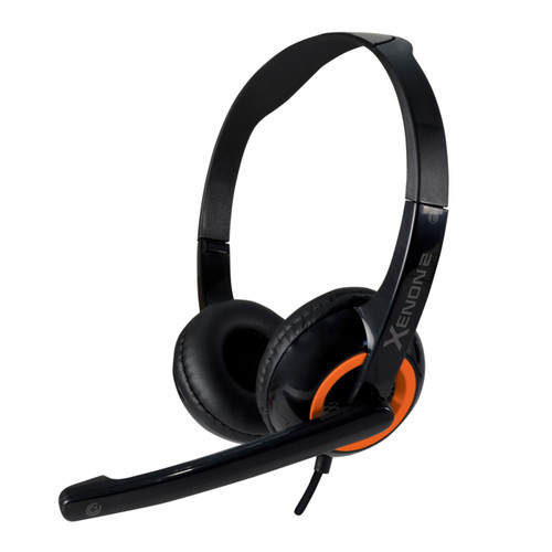 Foto Produk Headset Headphone Gaming Sonicgear Xenon 2 with mic - Orange dari Sonicgear Official Store