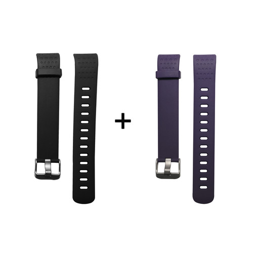 Foto Produk Two Lyfe Strap for Lyfe Watch in Black and Dark Purple dari Lyfe Official