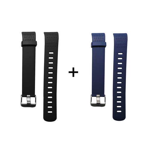 Foto Produk Two Lyfe Strap for Lyfe Watch in Black and Dark Blue dari Lyfe Official