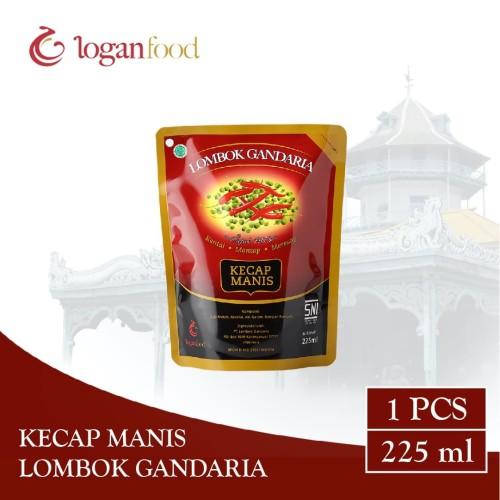 Foto Produk Kecap Manis Lombok Gandaria Pouch 225 ml dari Lombok Gandaria