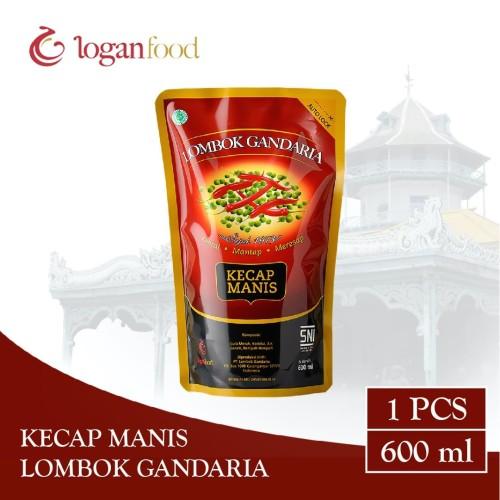 Foto Produk Kecap Manis Lombok Gandaria Pouch 600 ml dari Lombok Gandaria