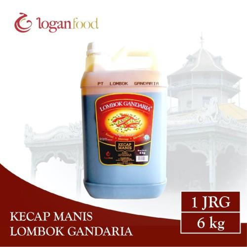 Foto Produk Kecap Manis Lombok Gandaria Jeriken 6 kg dari Lombok Gandaria