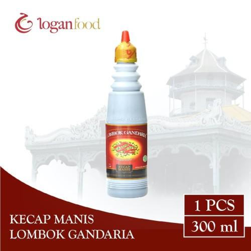Foto Produk Kecap Manis Lombok Gandaria Botol HDPE 300 ml dari Lombok Gandaria