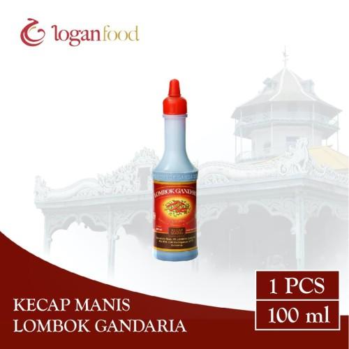 Foto Produk Kecap Manis Lombok Gandaria Botol HDPE 100 ml dari Lombok Gandaria