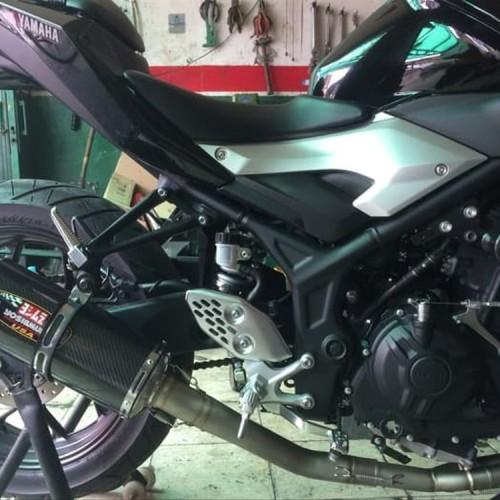 Foto Produk Baru Header Knalpot Custom Arcspeed Yamaha R25. Mt25 dari iputustore2020