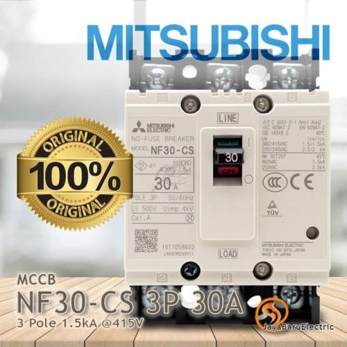 Foto Produk MCCB NFB Mitsubishi NF30-CS 3P 30A dari Toko OL Sinar Jaya Baru