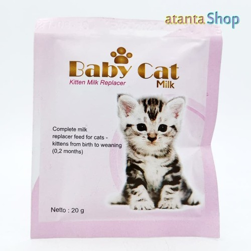 Foto Produk Baby Cat - 20g Kitten Milk Replacer Susu Kucing dari atanta Shop
