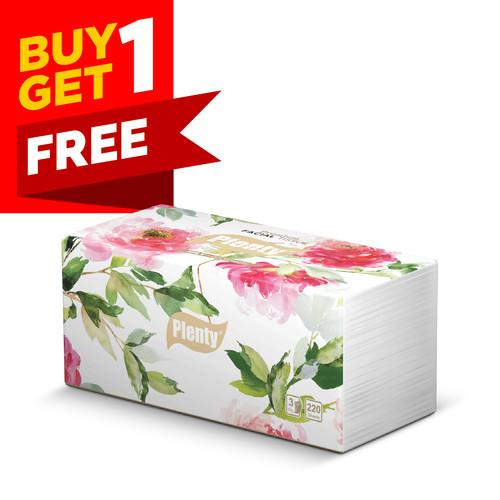 Foto Produk Plenty® Facial Tissue Premium 220sh dari Plenty & See-U Jakarta