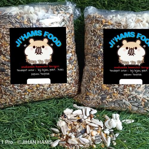 Foto Produk makanan hamster 1kg. / pakan hamster wihh popcron dan timothy hay dari jihan OS