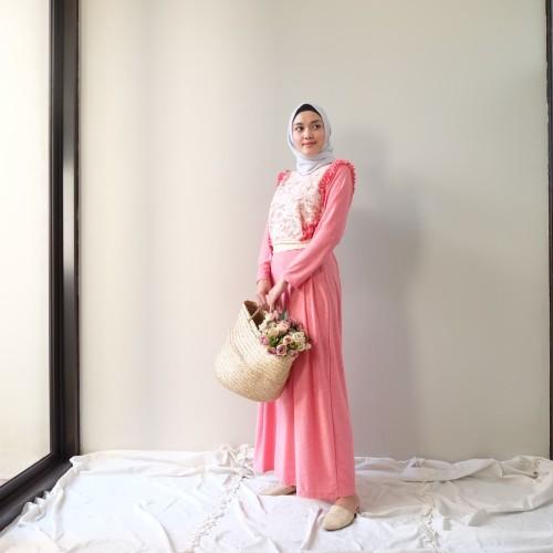 Foto Produk Abame Dress Tyna Pink dari Abame