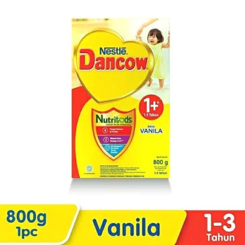 Foto Produk DANCOW 1+ VANILA 800gr - Exp 2022 dari HK Seller