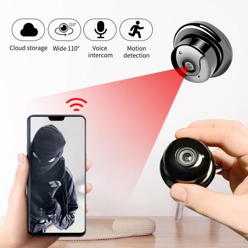 Foto Produk IP Camera CCTV V380 A1 Spy Kamera IP 960P Hidden Wifi CCTV Night Visio dari gadget mate