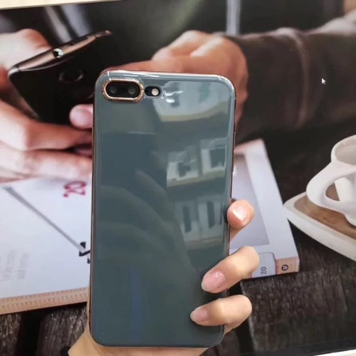 Foto Produk Soft Case iPhone 6/6s/6Plus/XMax/XProMax GREY MIRROR CASE dari Paroparoshop